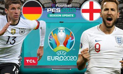 PES 2021'de İNGİLTERE vs. ALMANYA  PES 2021 HEDİYELİ!   TCL QLED 4K C728