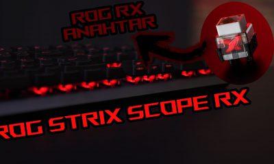 Cherry MX'e RAKİP OLDULAR! | ROG Strix Scope RX incelemesi!