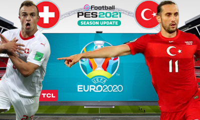PES 2021'de TÜRKİYE vs. İSVİÇRE | PES 2021 HEDİYELİ! | TCL Mini LED 4K C825