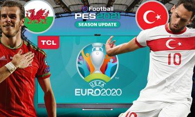 PES 2021'de TÜRKİYE vs. GALLER | PES 2021 HEDİYELİ! | TCL P8M 4K LED TV