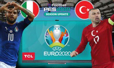(PES 2021 HEDİYELİ!) TÜRKİYE vs. İTALYA | TCL Mini LED 4K C825