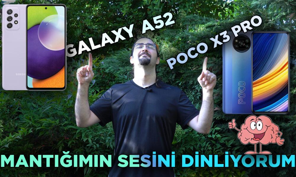 x3 pro vs galaxy a52 thumbnail