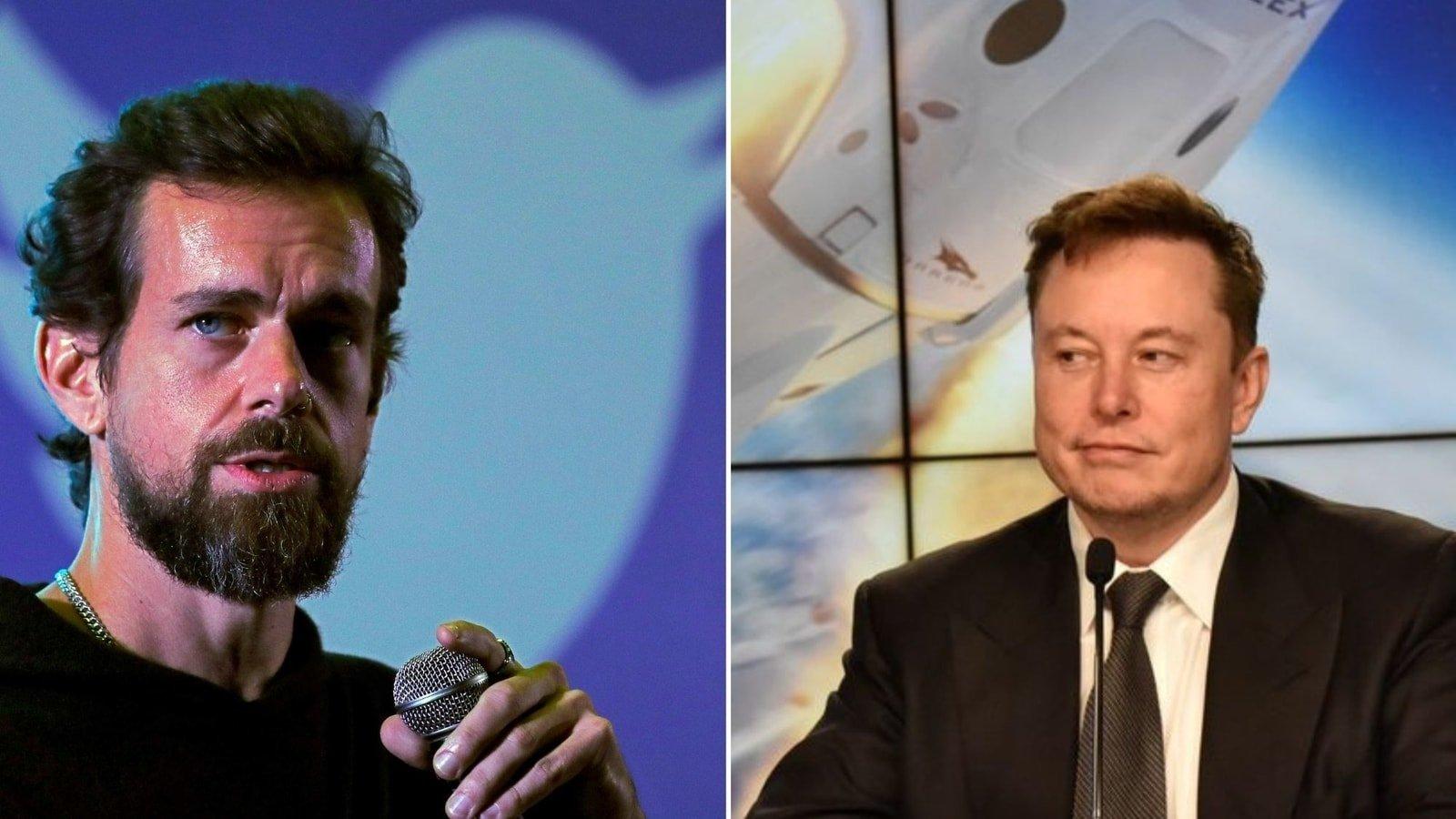 Elon Musk ve Jack Dorsey