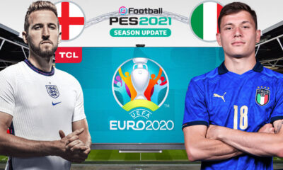 PES 2021'de İNGİLTERE vs. İTALYA | PES 2021 HEDİYELİ! | TCL 4K TV P615