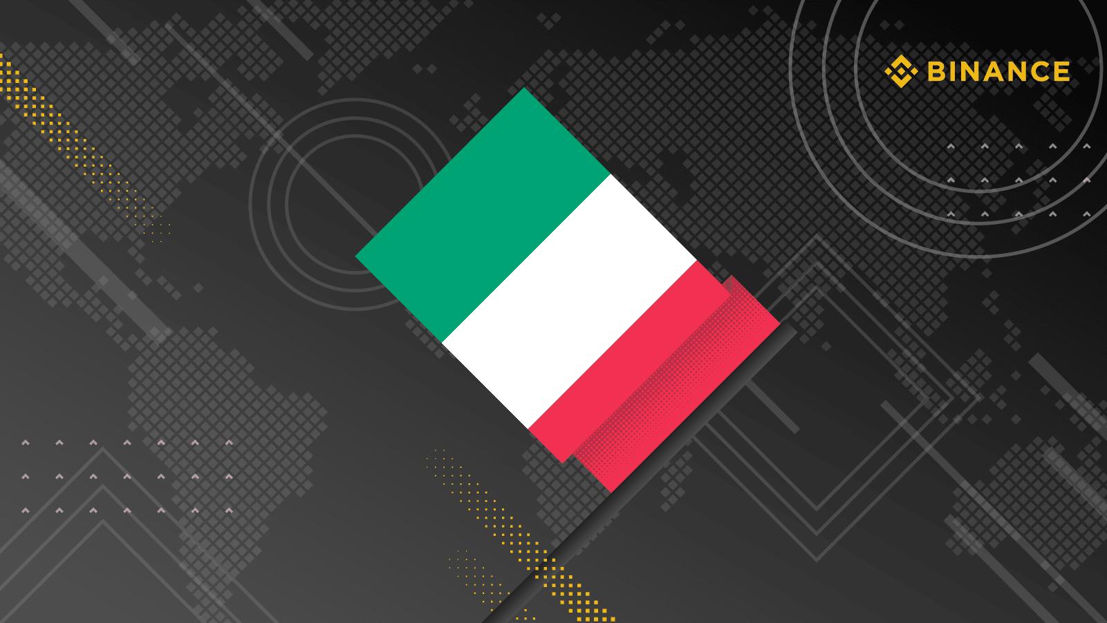 İtalya Binance