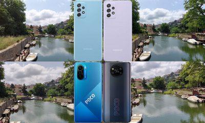 Samsung Galaxy A52, Galaxy A72, POCO X3 Pro ve POCO F3 video karşılaştırma