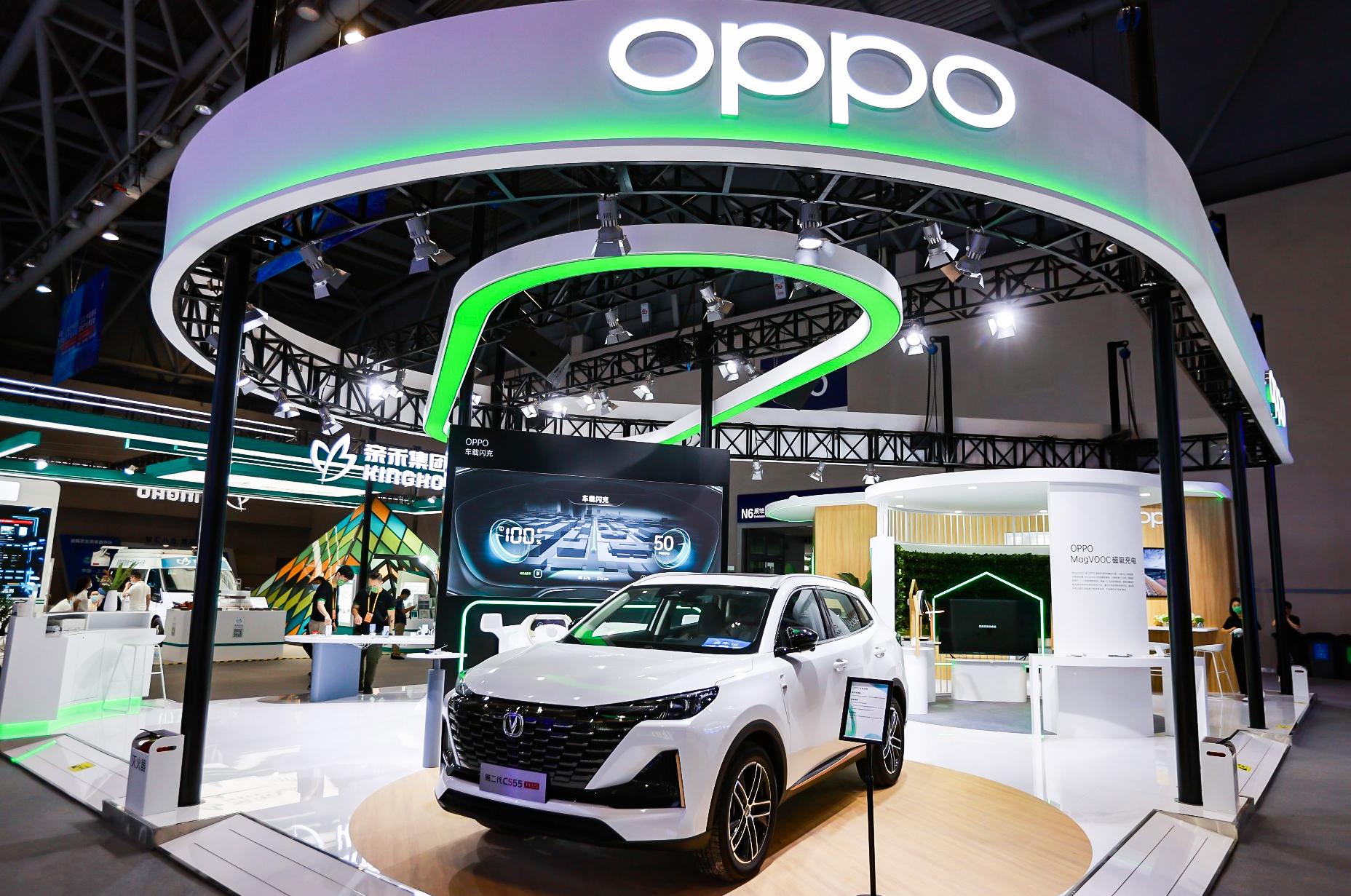 OPPO MagVOOC ve Araç İçi Bağlantı Teknolojilerini Sergiliyor