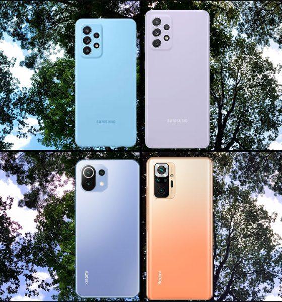 Samsung Galaxy A52, A72, Mi 11 Lite ve Redmi Note 10 Pro video karşılaştırma