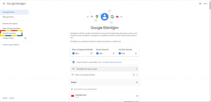 Google Etkinlik 2