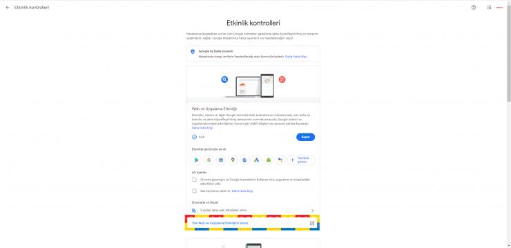Google Etkinlik 3