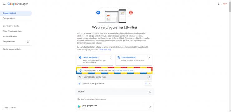 Google Etkinlik 4