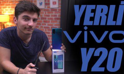 Yeni ve yerli   VIVO Y20 kutu açılışı