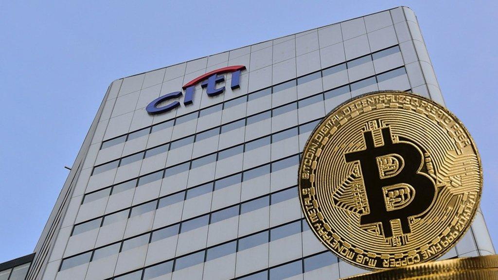 Citigroup bitcoin