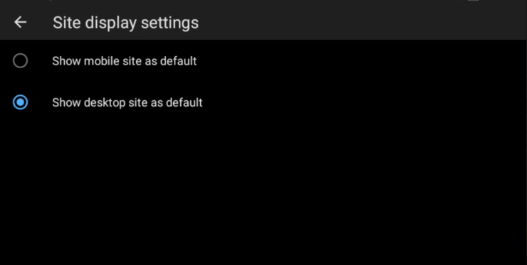 Google Chrome Sürekli Masaüstü Sitesi