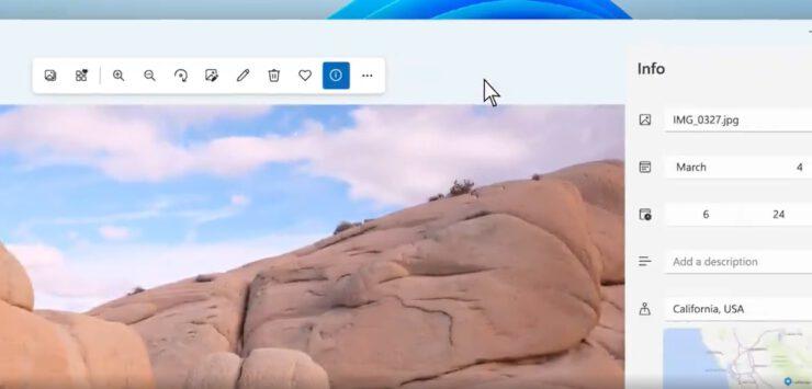 Windows 11 Fotoğraflar