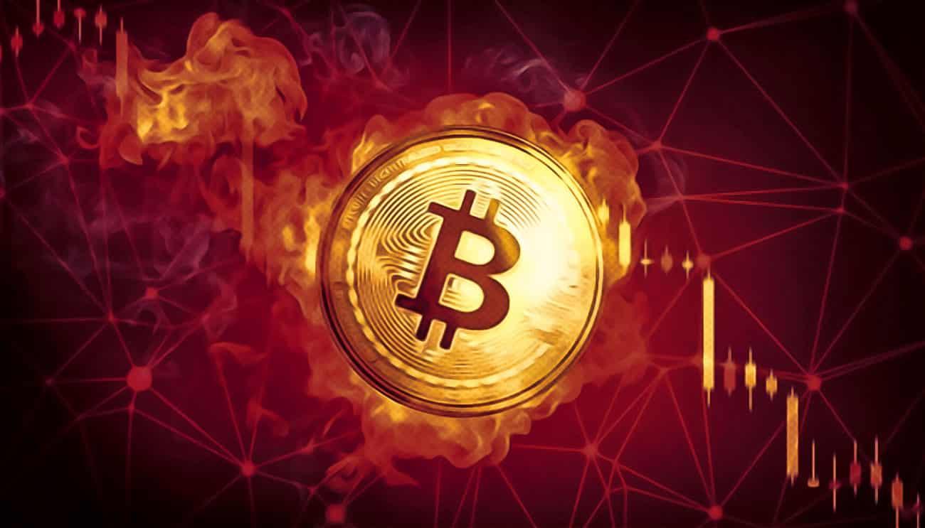 bitcoin çöküşü