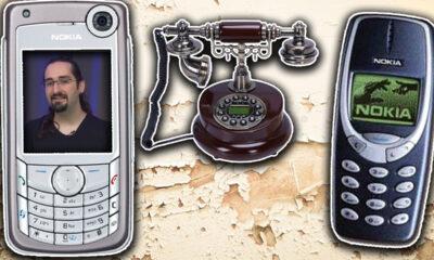 10 nostaljik telefon