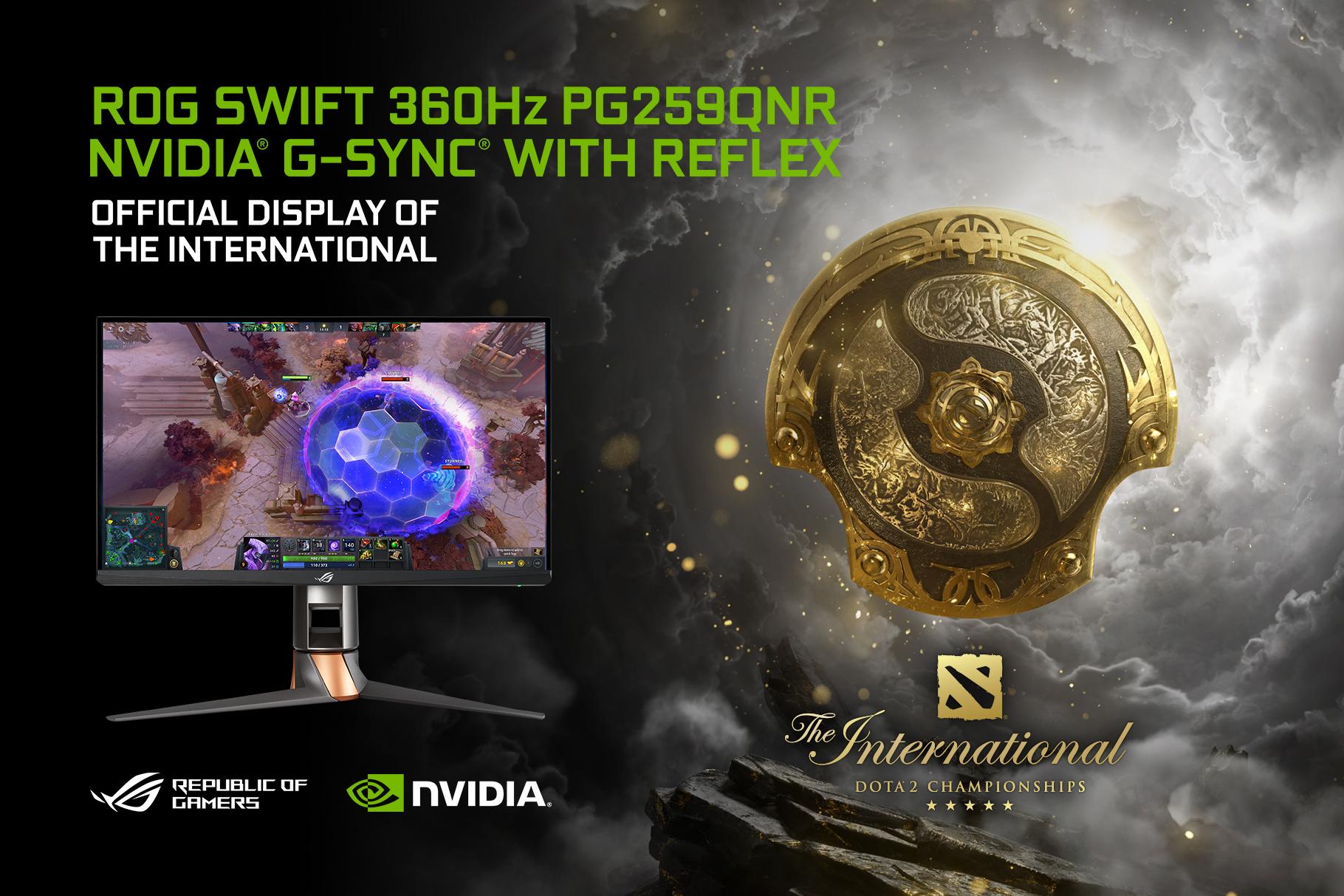 ASUS ROG Swift 360 Hz DOTA 2
